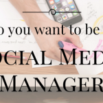 how to be a social media manager